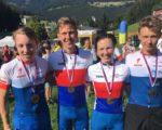 Medaile z mistrovství republiky horských kol